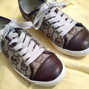 Michael Kors lace up sneakers